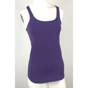 LULULEMON essential tank purple Sz 4